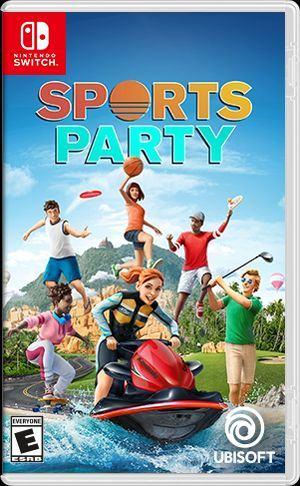 Sports Party Nintendo Switch igra,novo u trgovini,račun