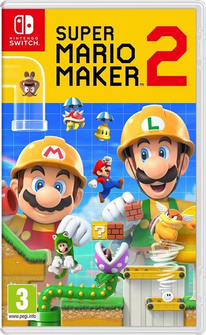 Super Mario Maker 2 (Nintendo Switch - novo)