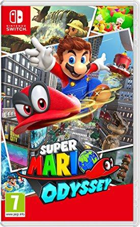 Super Mario Odyssey (Nintendo Switch - novo)