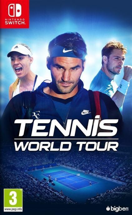 Tennis World Tour Nintendo Switch igra,novo u trgovini,račun