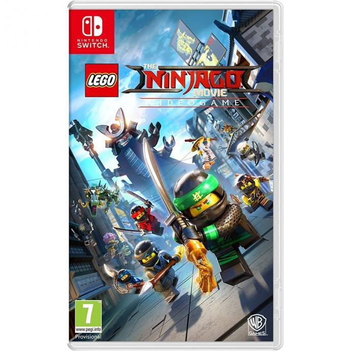 The Lego Ninjago Movie Videogame Nintendo Switch novo u trgovini,račun