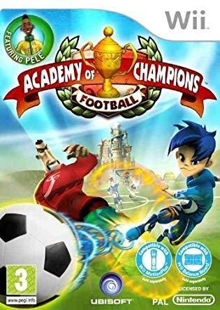 Academy Of Champions Football Nintendo Wii igra,novo u trgovini,račun