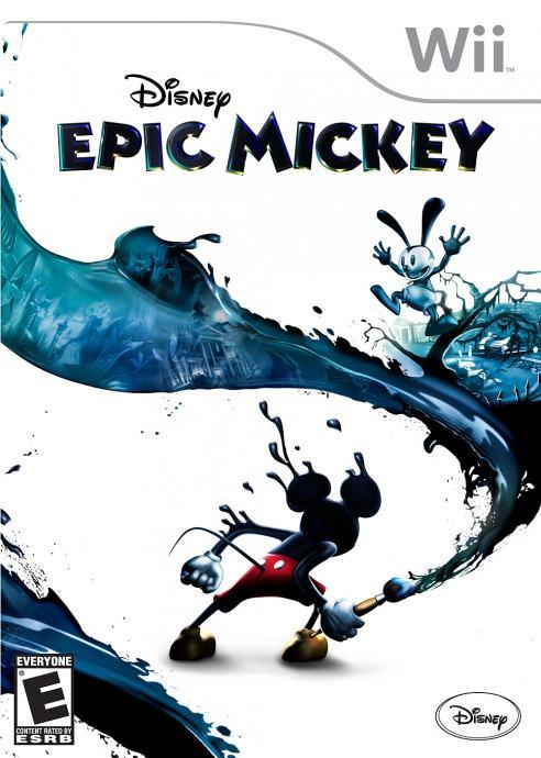 Disney's Epic Mickey, Nintendo Wii igra, novo u trgovini