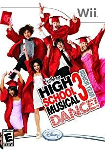 Disney High School 3 Senior Year Dance (Nintendo Wii - korišteno)