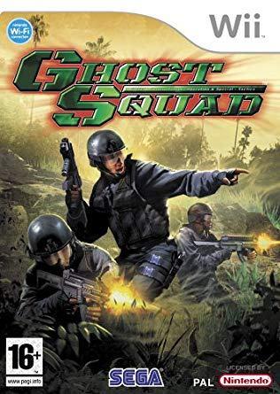 Ghost Squad Nintendo Wii igra,novo u trgovini,račun