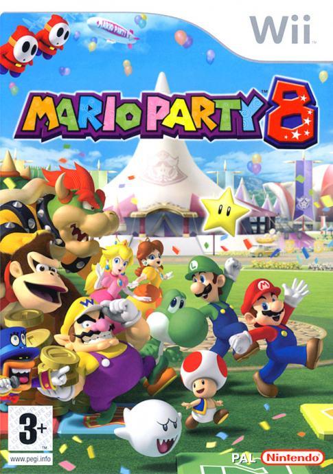 Mario Party 8 Nintendo Wii igra,novo u trgovini,račun
