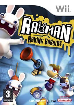 Rayman Raving  Rabbids NINTENDO Wii igra,novo u trgovini,račun