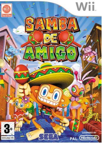 Samba De Amigo (Wii-korišteno)