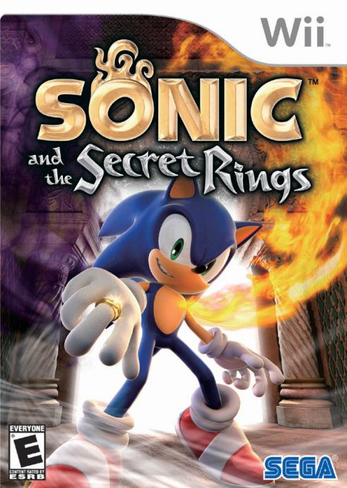 Sonic and the Secret Rings NINTENDO Wii igra,novo u trgovini,račun