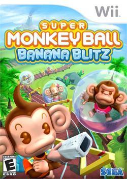 Super Monkey Ball Banana Blitz Nintendo Wii igra,novo u trgovini,račun