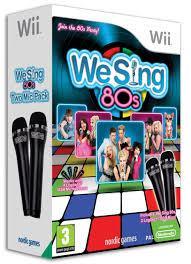 WE SING 80s Wii