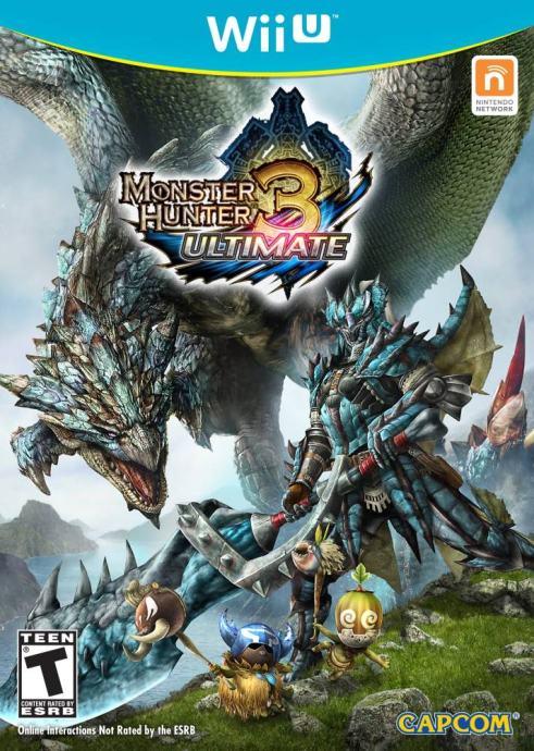 Monster Hunter 3 Ultimate NINTENDO Wii U,novo u trgovini,račun