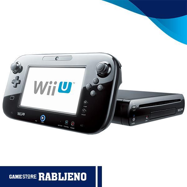 Nintendo Wii U 32GB Premium,RABLJENO!