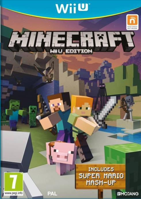 Minecraft Nintendo Wii U igra,novo u trgovini,račun