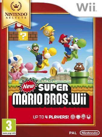 New Super Mario Bros Nintendo Wii igra,novo u trgovini,račun