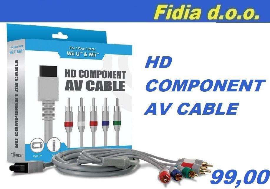 ⭐️⭐️ Wii U/ Wii Komponentni-AV Kabel ⭐️⭐️