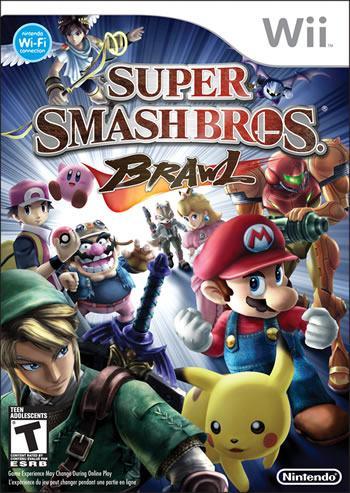 Super Smash Bros. Brawl Nintendo Wii igra,novo u trgovini,cijena 249kn
