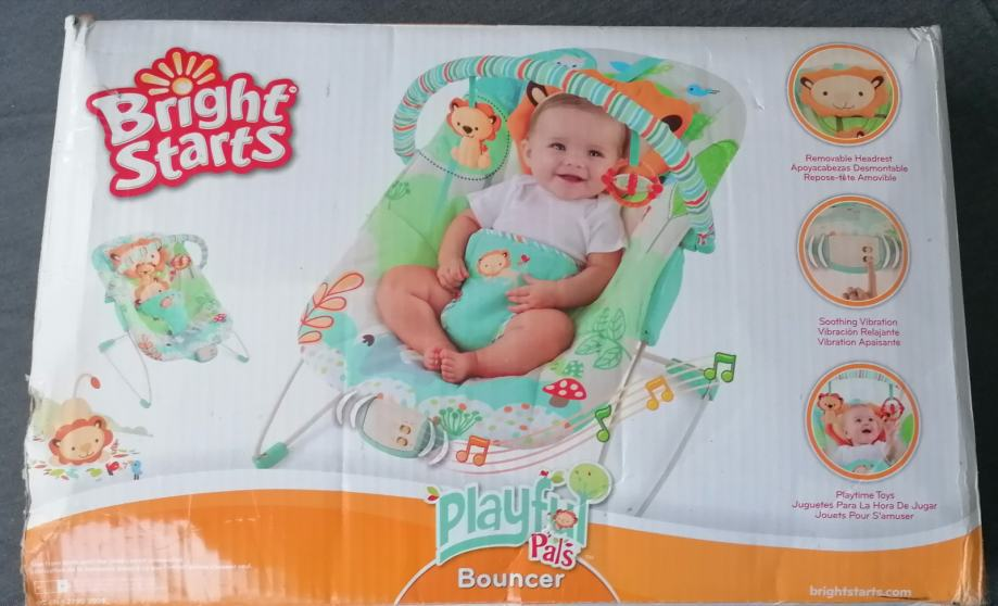 Bright Starts Ležaljka za bebe sa vibracijom