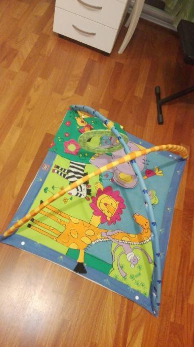 Ležaljka, podloga - igraća konzola za bebe