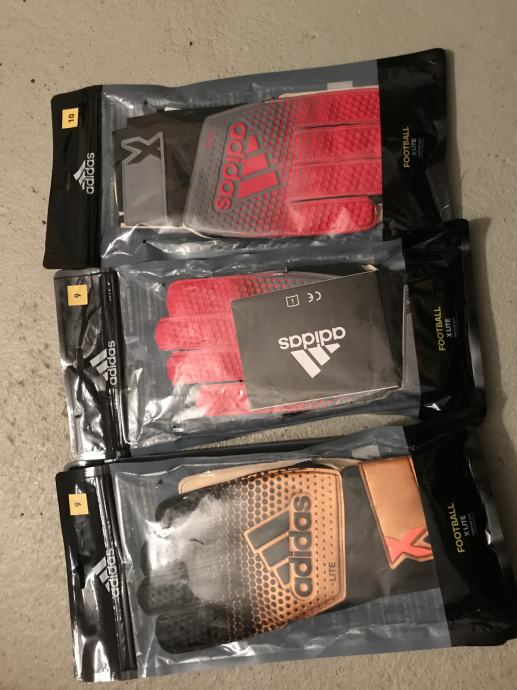 Prodajem nove nekoristene Adidas golmanske rukavice. 80 kn