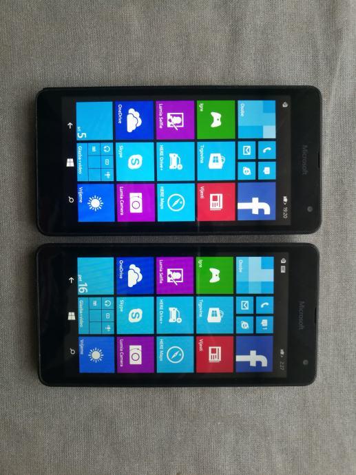 2 komada Nokia Lumia 535