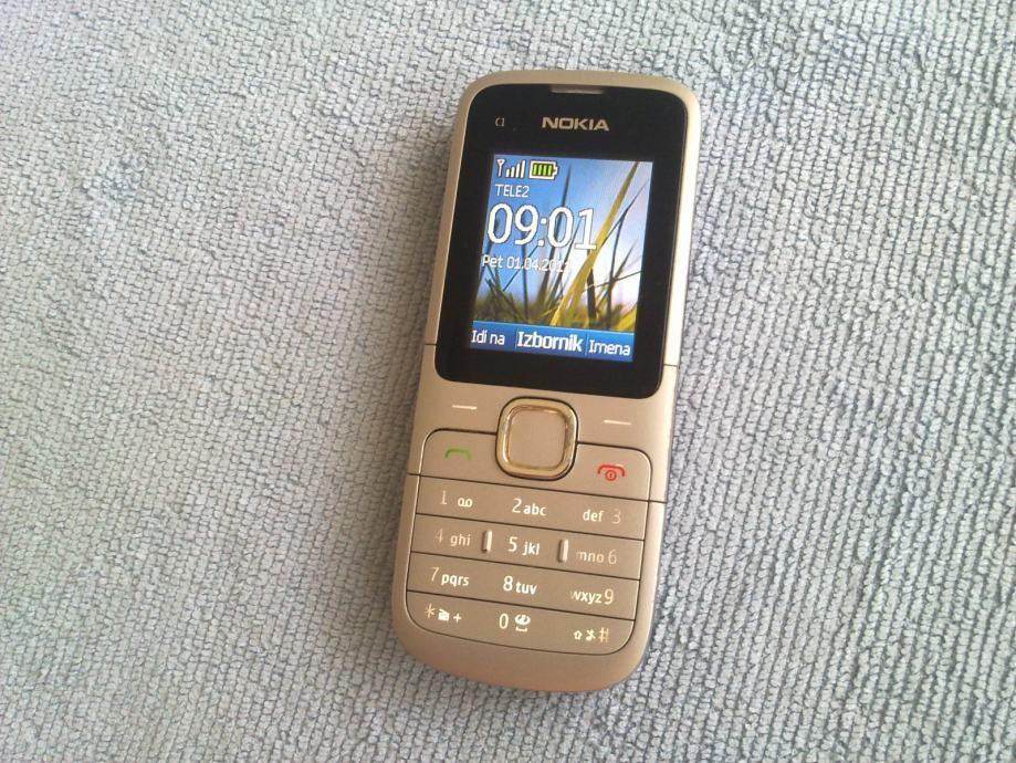 Nokia C1-01 (Vrlo dobro stanje) Sve mreže, odlična baterija, punjač