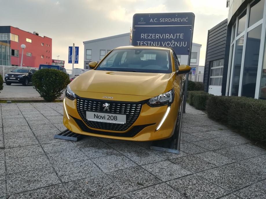 Novi Peugeot 208 1,2 Puretech  100 KS  AKCIJA  !!!