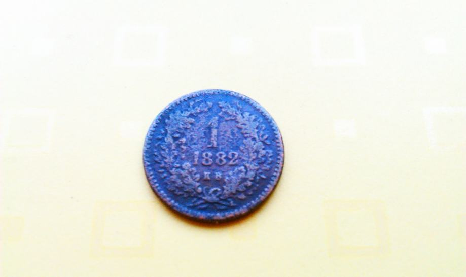 1 KRAJCER 1882. god.