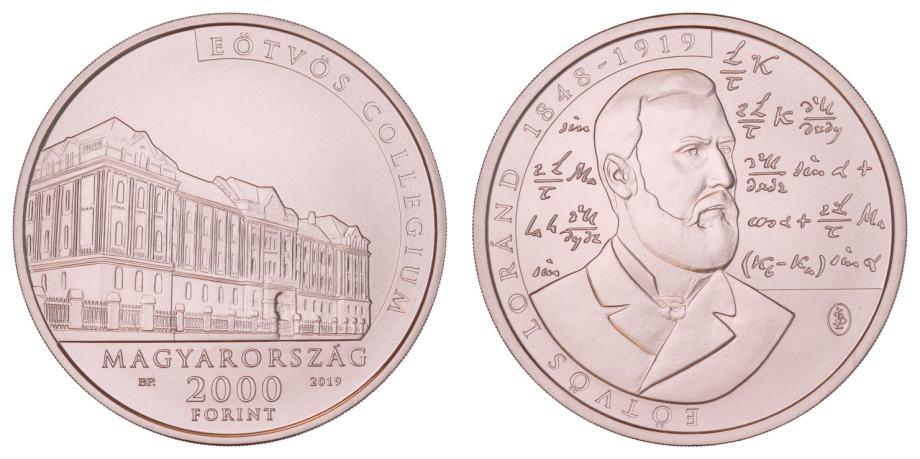 (91) MAĐARSKA 2000 forinta 2019.