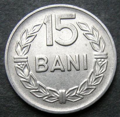 ROMANIA 15 BANI 1960