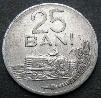 ROMANIA 25 BANI 1960
