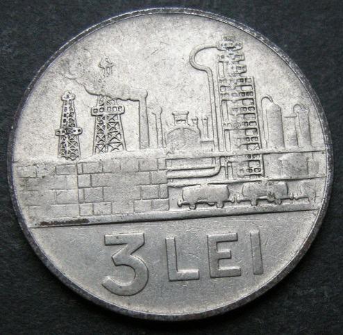 ROMANIA 3 LEI 1963