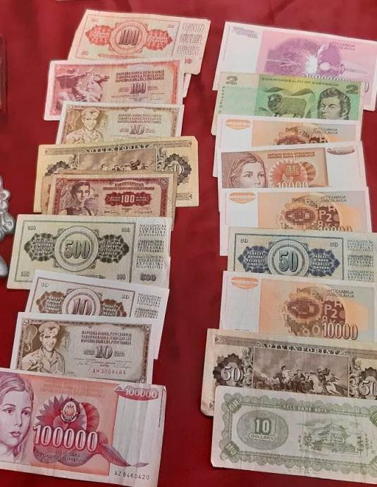 Razne stare novcanice