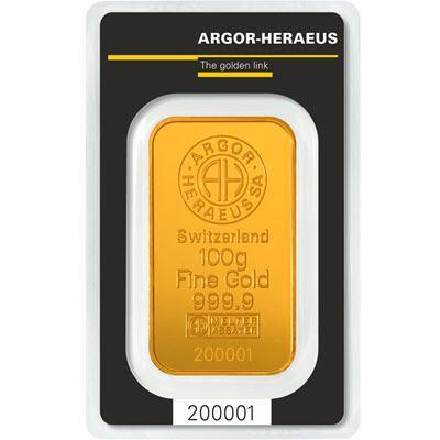 ZLATNA POLUGA 100 grama 999,9 INVESTICIJSKO ZLATO • GOLD SHOP •