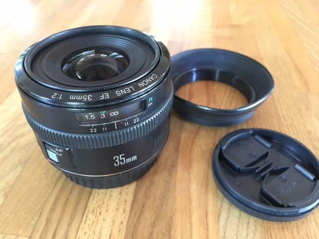 Canon objektiv 35mm 1:2