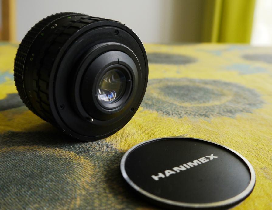 Hanimex 28mm f2.8 M42 navoj
