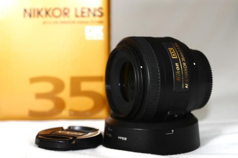Nikon Nikkor AF-S DX 35 mm f/1,8G