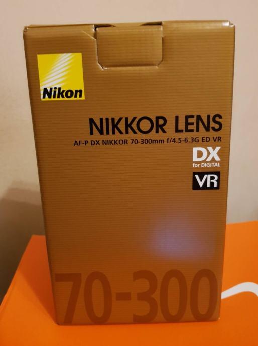 Nikkor AF-P 70-300 f/4.5-6.3G ED VR