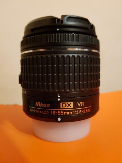Nikkor AF-P Nikkor VR 18-55  f/ 3,5-5,6G