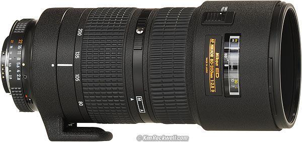 Nikon 80-200 Nikkor, f2.8