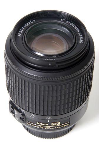 Nikon NIKKOR DX f4-5.6 AF-S 55-200 mm G ED