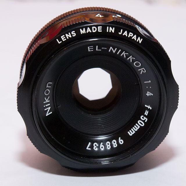Objektiv Nikon EL-NIKKOR 1:4 50mm za povećanje
