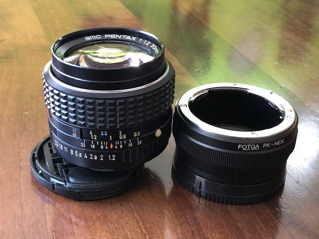 Pentax SMC 50mm f/1.2