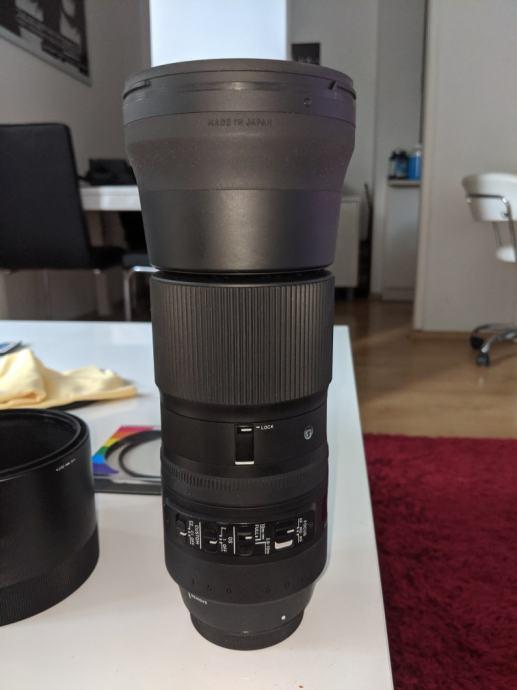 Sigma 150-600mm contemporary za CANON