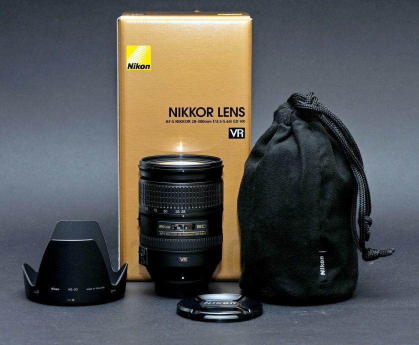 Zoom objektiv Nikon Nikkor AF-S 28-300mm f/3.5-5.6G ED VR