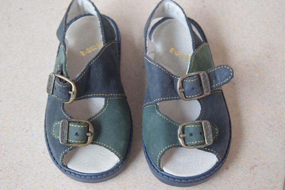 Bambi kožne sandalice za djecu