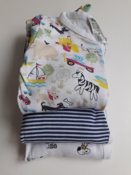 Lot gegica 3x pidžama H&M