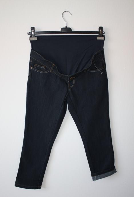 Calin Kalin (Kiabi) traper hlače za trudnice tamno plave boje - vel. S