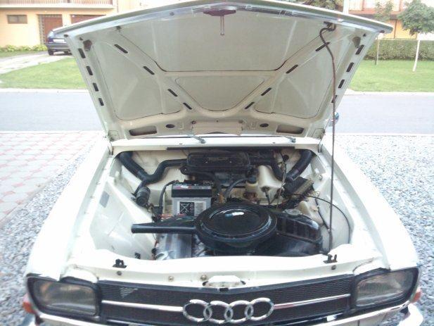 Audi 60 1971.g. registriran