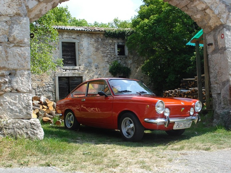 fiat 850 sport coupe. Black Bedroom Furniture Sets. Home Design Ideas